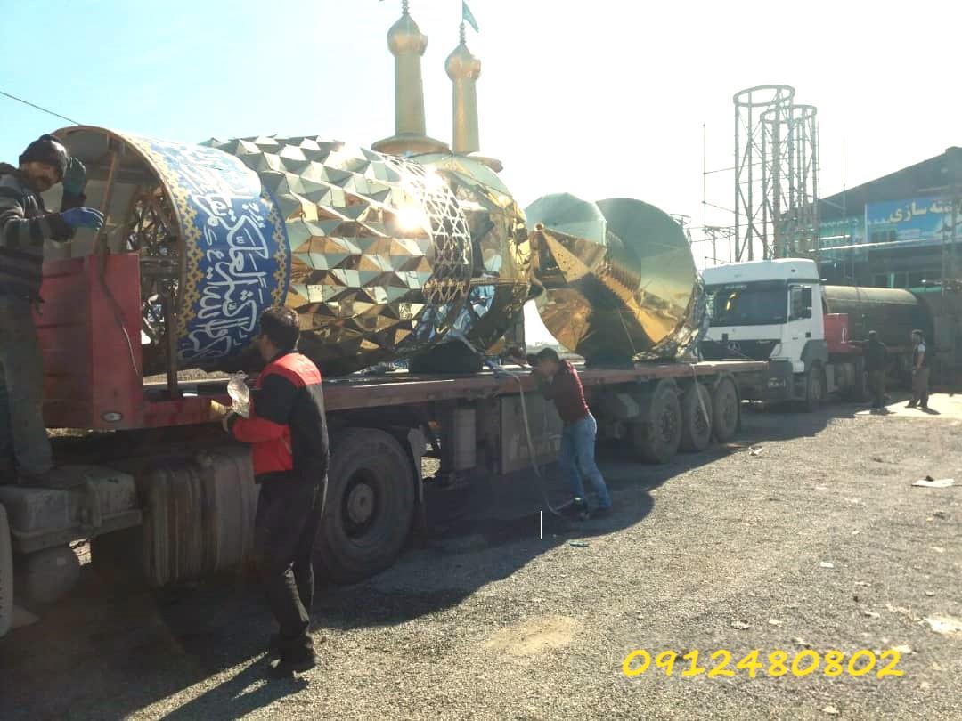 ساخت گلدسته 20 متری در شیراز استهبان