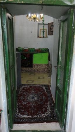 درب ورودی امام زاده ابراهیم روستای کشرود در طالقان