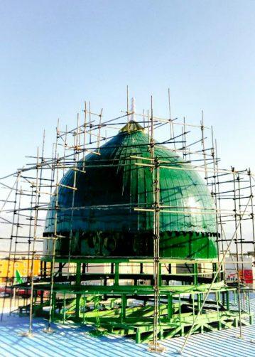 ساخت گنبد طرح مسجدا